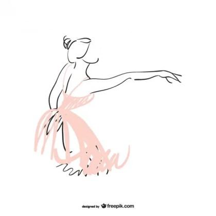 Ballerina Free Free Vector