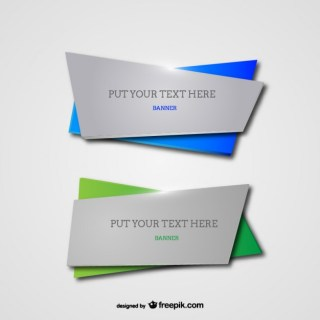 Banner Templates Free Vector