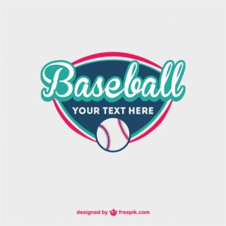 Baseball Ball Free Template Free Vector