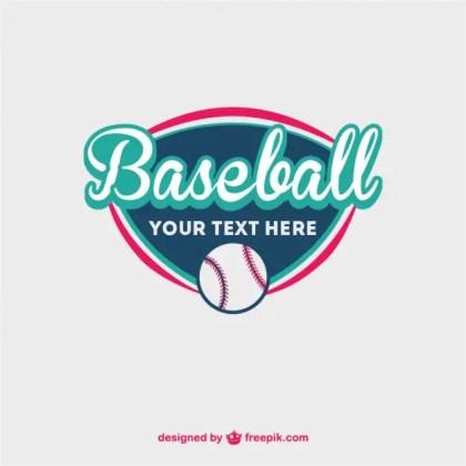Baseball Ball Free Template Free Vector