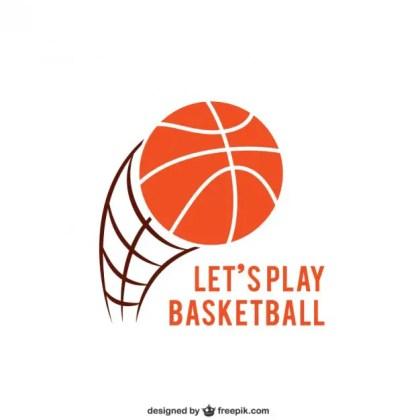 Basketball Logo Free Vector