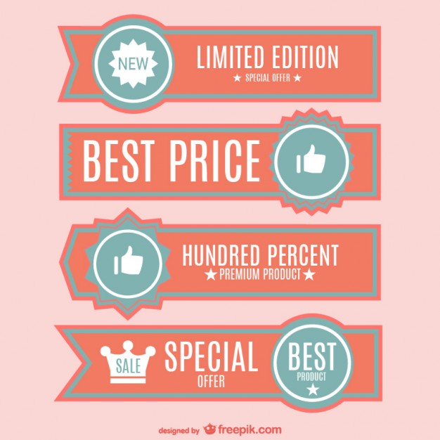 Best Price Banners Free Vector