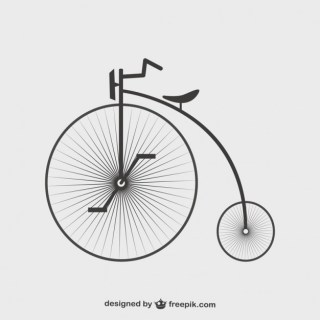 Bicycle Template Graphics Design Free Vector