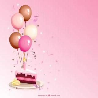 Birthday Cake Cartoon Free Vector