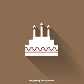 Birthday Cake Free Vector