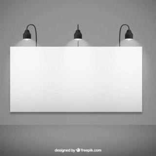 Blank Billboard Mockup Free Vector