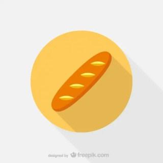 Bread Icon Free Vector
