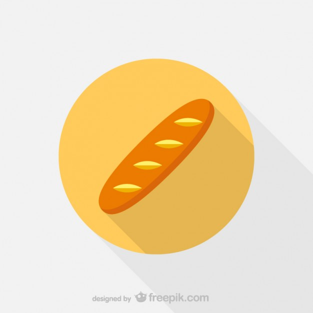 Bread Icon Free Vector