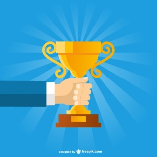Business Trophy Free Vector