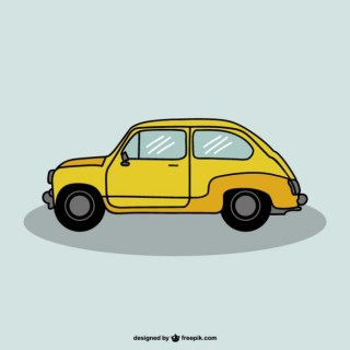 Car Drawing Design Free Vector