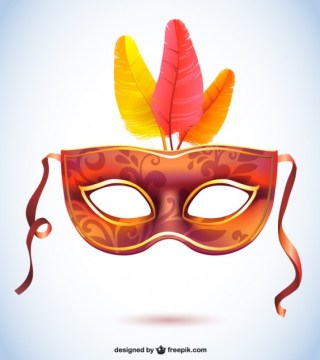 Carnival Mask Fashion Free Vector
