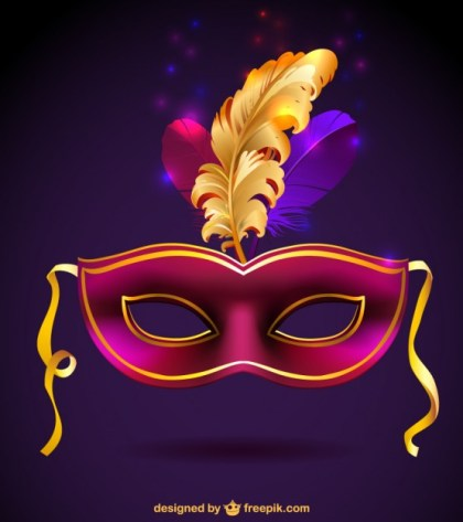 Carnival Mask Free Graphic Free Vector