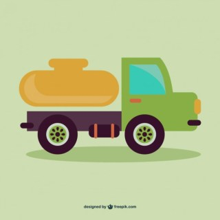 Cartoon Truck Free Vector