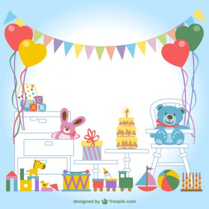 Children S Room Free Vector