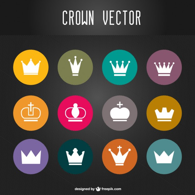 Crowns Free Vector