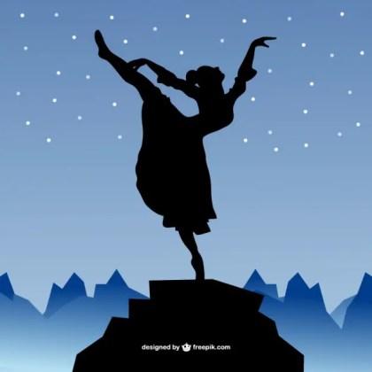 Dancer Art Free Vector