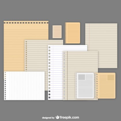 Diverse Paper Free Vector