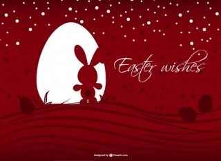 Easter Background Free Vector