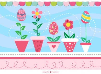 Easter Card Free Graphic Free Vector