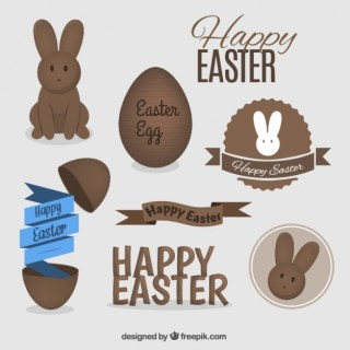 Easter Chocolate Free Vector