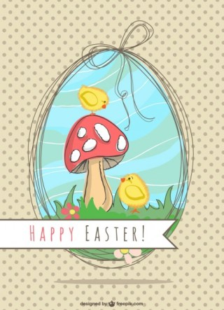 Easter Illustration Nature Design Free Vector