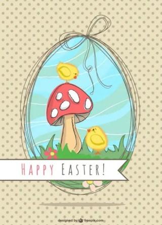 Easter Illustration Nature Design Free Vector