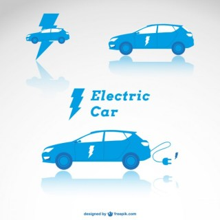 Electric Car Free Vector