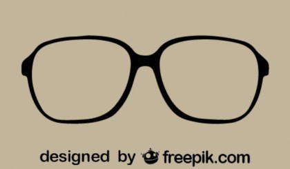 Eyeglasses Iconic Vintage Style Free Vector