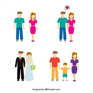 Family Icons Pack Free Vector