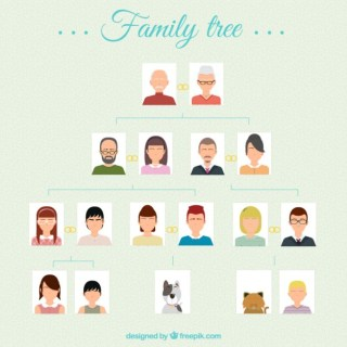Family Tree Free Vector