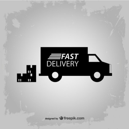 Fast Delivery Icon Free Vector