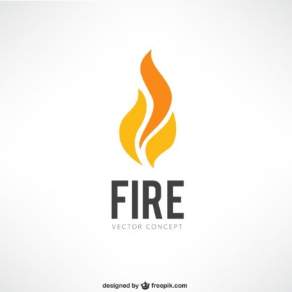 Fire Logo Free Vector