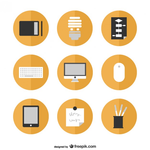 Flat Icons Free Graphics Free Vector