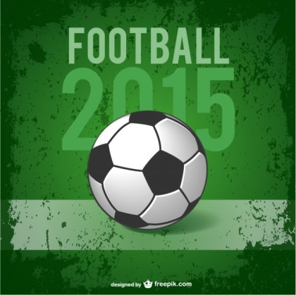 Football Poster Free Vector