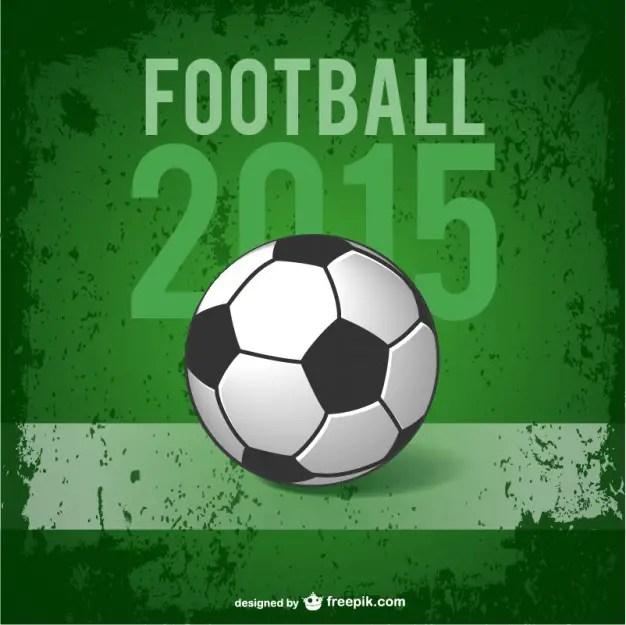 Football Poster Free Vector