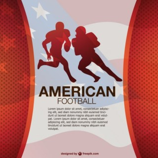 Free American Football Design Free Vector