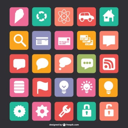 Free Flat Icons Free Vector