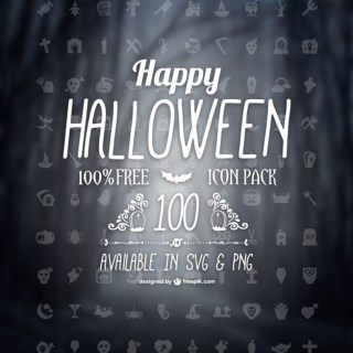 Free Halloween Icons Pack Free Vector