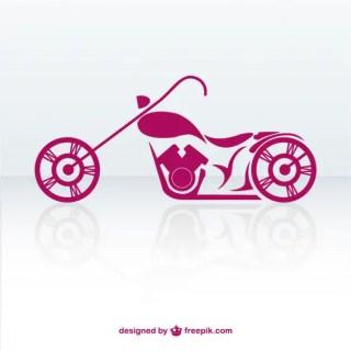 Free Retro Motorbike Free Vector