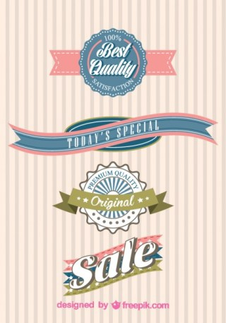 Free Shopping Stickers Free Vector