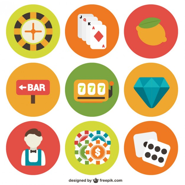Gambling Icon Pack Free Vector