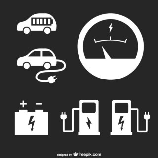 Gas Station Free Vector