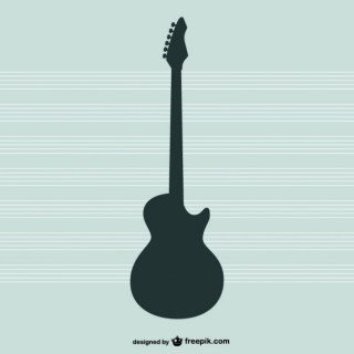 Guitar Silhouette Free Vector