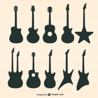 Guitars Free Vector