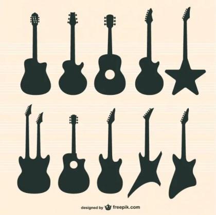Guitars Free Vector