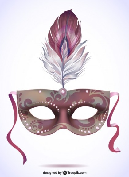 Illustration Carnival Mask Free Free Vector