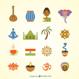India Pack Free Vector