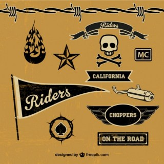Motorcycle Free Graphic Elements Free Vector