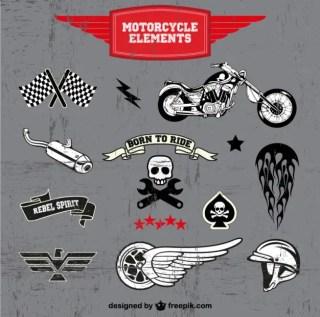 Motorcycle Free Logos Free Vector