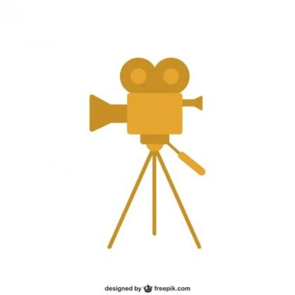 Movies Camera Free Vector